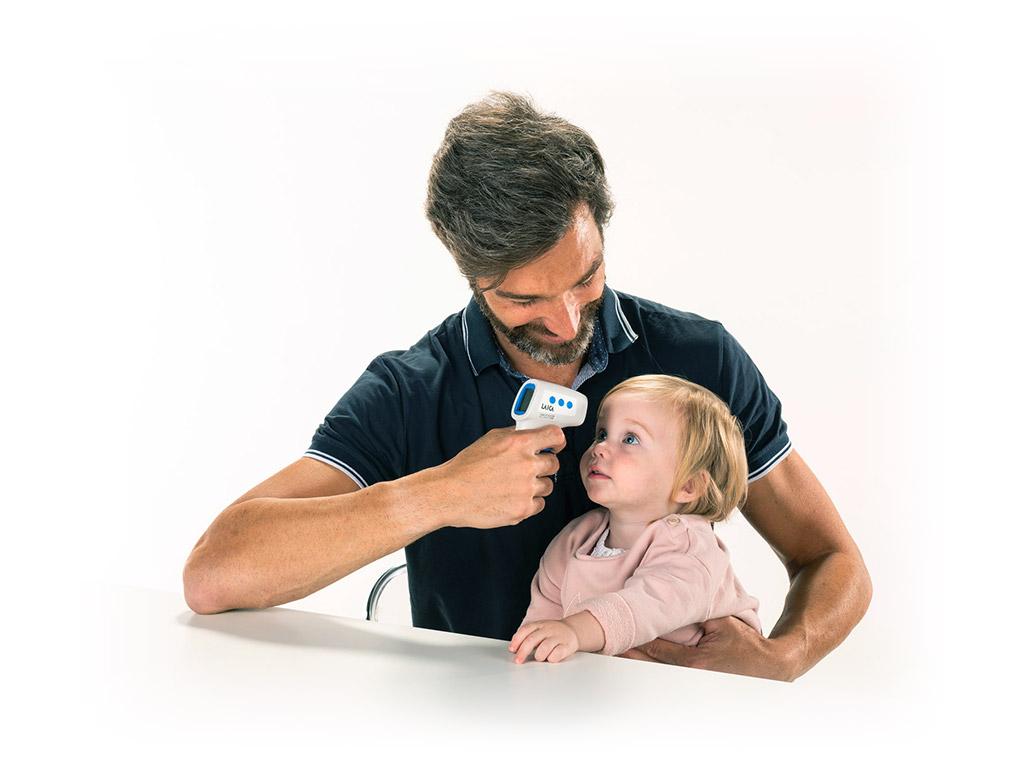 Misurazione febbre a distanza bambini