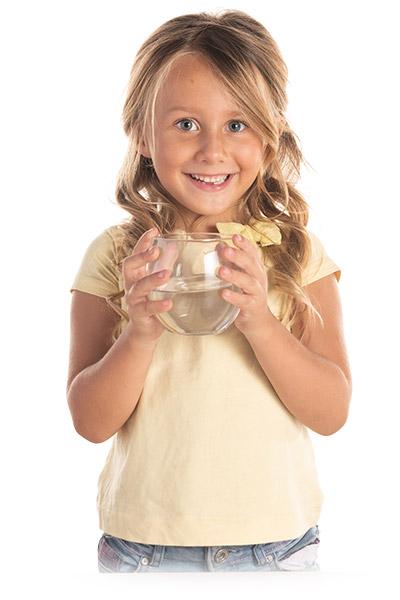 bevi acqua dal gusto buono laica