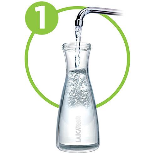 bottiglia filtrante laica riempi