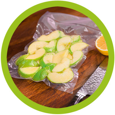 Frutta sottovuoto