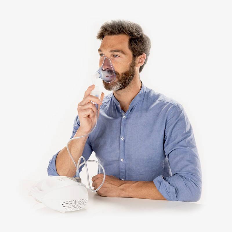 Mascherina aerosol per adulti