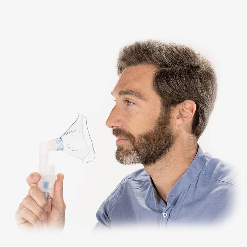 Maschera aerosol