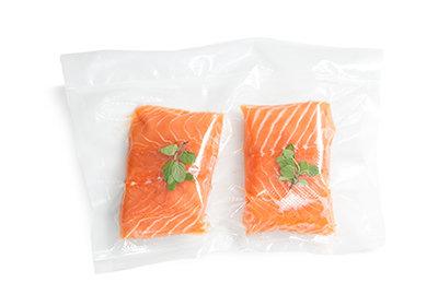 Salmone sottovuoto